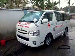 ac ambulance in Bangladesh