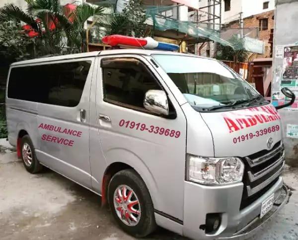 ambulance service in dhaka